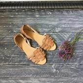 Кожаные сандали-босоножки Oasis p-p 40