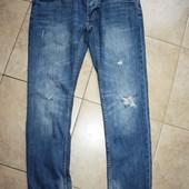 Мужские рваные джинсы Topman Skinny 34R размер