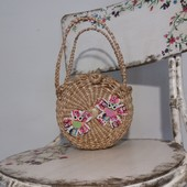 сумочка плетённая детская