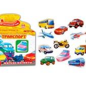 Настольная игра Vladi Toys Транспорт (VT3101-06) мягкие магниты