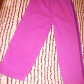 Тёплые штанишки в идеале, без дефектов 4-5 лет уп15