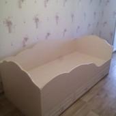 Кровать детская с защитным бортиком. Николаев. Кредит