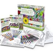 Шикарный Антистресс набор для творчества Crayola, подарок детям и взрослым