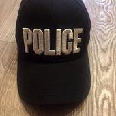 Кепка молодежная с надписью Police