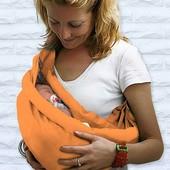 Эргорюкзак, бананка-переноска для новорождённого
