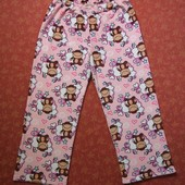 размер 16-18 (L) Женские махровые штаны Secret Possessions, б/у.