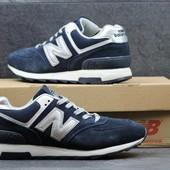 Кроссовки New Balance 574 темно сині