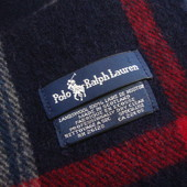 Шарф Polo Ralph Lauren оригинал натур шерсть
