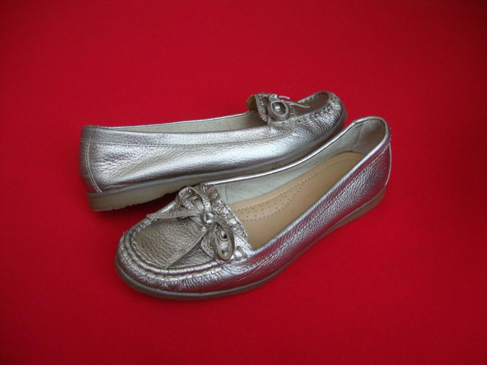 Балетки Footglove Silver натур кожа 36 разм фото №1