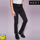 Новые школьные брюки для девочки Next slim 16 лет, р. S. сток, форма, джинсы