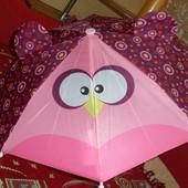 Детский зонтик с ушками в идеальном состоянии