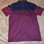 новая мужская футболка поло Next размер L Египетский хлопок