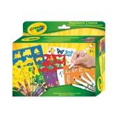Crayola Набор для творчества Алфавит с трафаретами alphabet stamper set