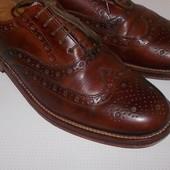Туфли броги натуральная кожа р. 42 (стелька 28 см)