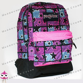 Молодежный рюкзак JanSport-105, 40х30х15см, наружный карман, уплотненная спинка