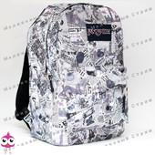 Молодежный рюкзак JanSport-108, 40х30х15см, наружный карман, уплотненная спинка, школьный рюкзак