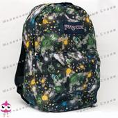 Молодежный рюкзак JanSport-110, 40х30х15см, наружный карман, уплотненная спинка, школьный рюкзак