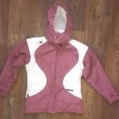 качественная термо-куртка, аналог Reima, как новая, р.152-164