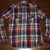 рубашка мужская  jack&jones размер  M состояние отличное