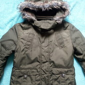 Стильная парка, пальто, курточка на 5-6 лет.