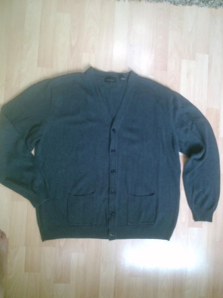 Фирменный свитер кардиган кофта XXL фото №1