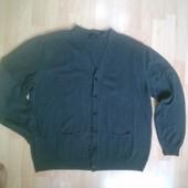 Фирменный свитер кардиган кофта XXL