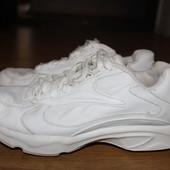 Кожаные кроссовки reebok walk dmx