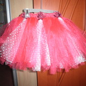 Красивая юбка пачка 2-4 года(92-104)