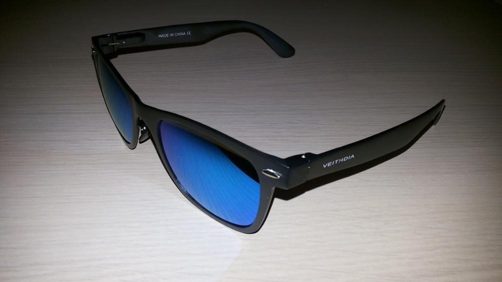 Алюминиевые очки для путешествий с поляризованными линзами. фото №1
