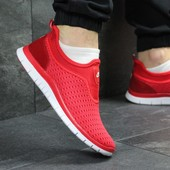 Кроссовки мужские сетка Nike red