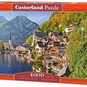 Пазлы 4000 Город на берегу моря на горном склоне Hallstatt, Austria 041 Castorland касторленд Польша
