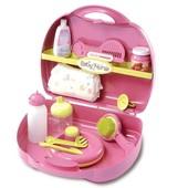 Smoby Чемоданчик для ухода за куколкой vanity baby nurse 024395