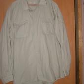 Фирменная Рубашка большой размер Sherwood Forest 51см ворот 100% хлопок