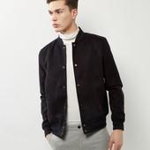 Куртка ветровка бомбер с эффектом замши New Look, размер М