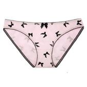 Хлопковые трусики слип с бантами 5205/52 Amira от Jasmine lingerie - S M
