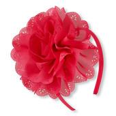 Обруч с красным цветком childrensplace