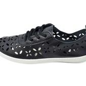 Мокасины женские Violeta 4-338 черные