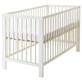 Кроватка детская, белый, 60x120 см Икеа Гулливер, 102.485.19 Gulliver Ikea В наличии!