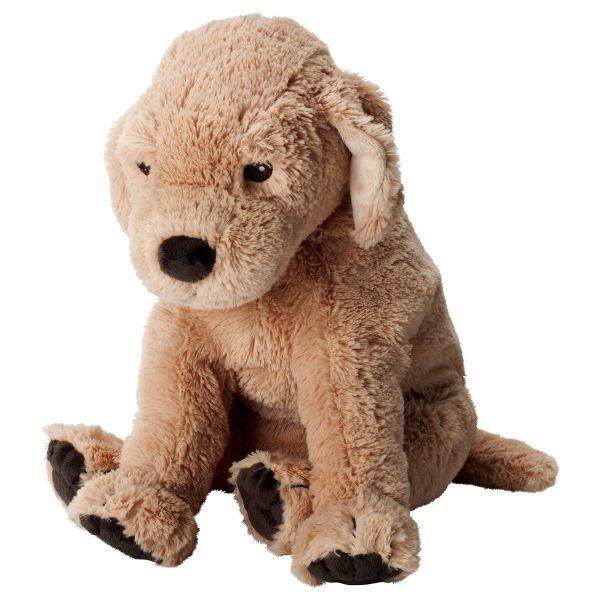 Мягкая игрушка, собака, золотистый ретривер икеа госиг голден 001.327.98 ikea gosig golden вналичии фото №1