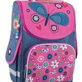 Рюкзак Smart 553343 каркасный PG-11 Jeans butterfly