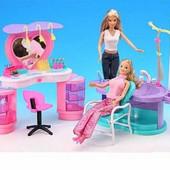 Набор мебели для кукол Gloria Парикмахерская