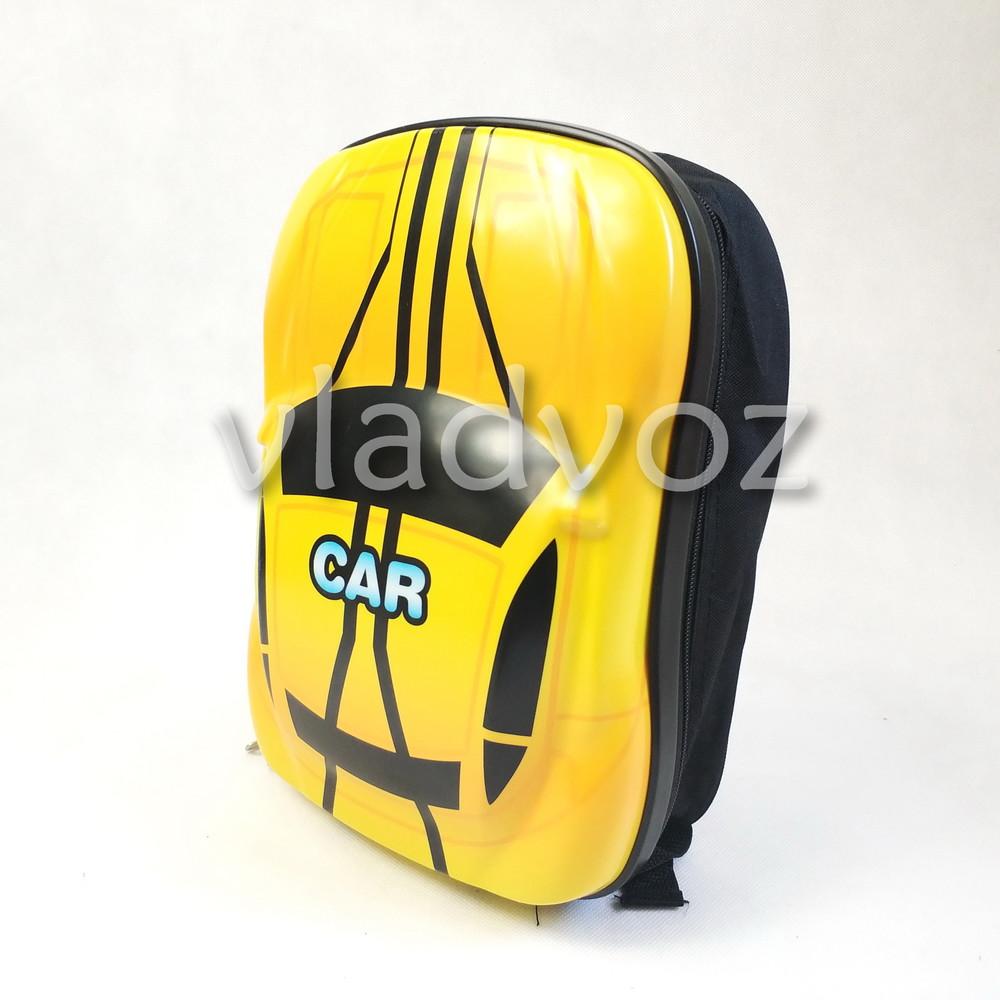 Детский рюкзак для мальчиков машинка желтый Car 3852-1  фото №1