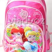 Школьный рюкзак для девочки Princess принцессы розовый 3412