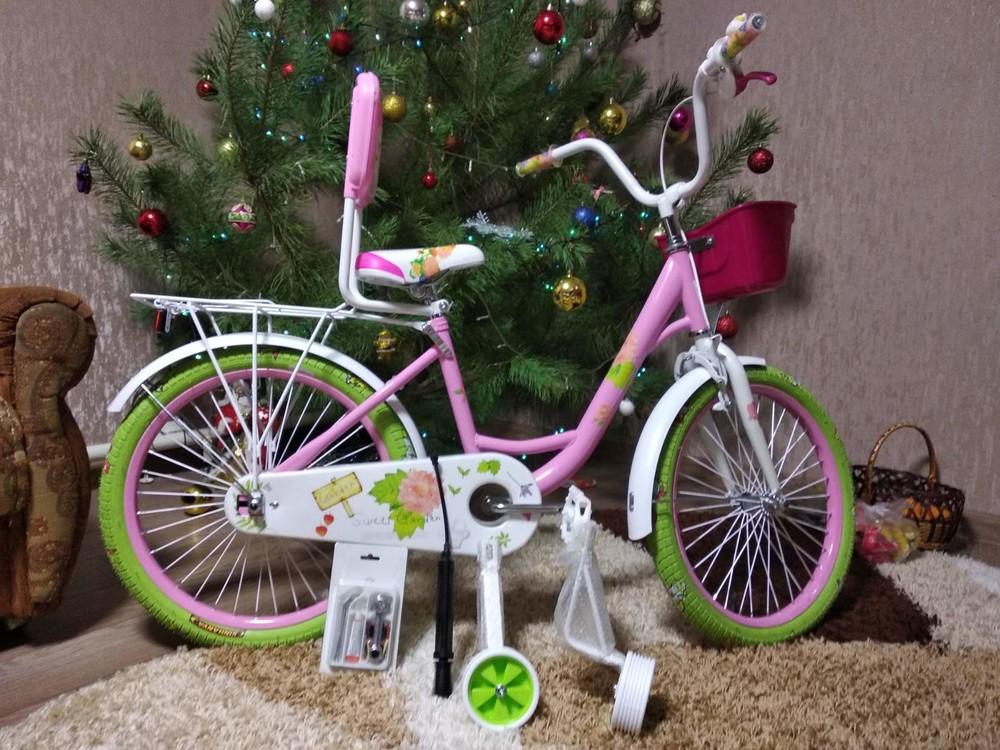 Роус 16 18 20 дюймов roses велосипед детский двухколесный для девочек фото №1