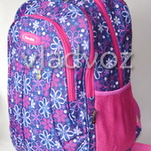 Рюкзак для девочки подростка плотная спинка Five Club ромашка сиреневый 3387
