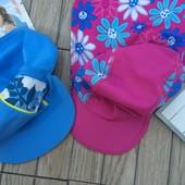 пляжные кепки на 1,2 и 3 года