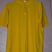 42/14/XL Бангладеш. Фирменная большая футболка поло тенниска спортивная. Представляю Вашему вниман