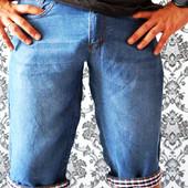 Летние, легкие бриджи для мужчин и подростков! Размеры 29-40, реальные замеры и фото.