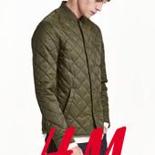 Куртка стьогана демісезонна для чоловіків s, m, l від фірми H&M Швеція