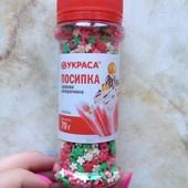 Посипка Украса сахарная декоративная 70 грамм